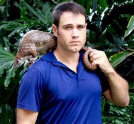 Justin Miller, Founder of Pangolin Conservation