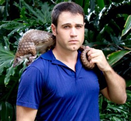 Justin Miller, Founder of Pangolin Conservation